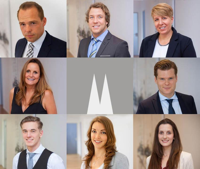 Unsere Versicherungs- und Finanzierungsexperten - Team DOMFINANZ